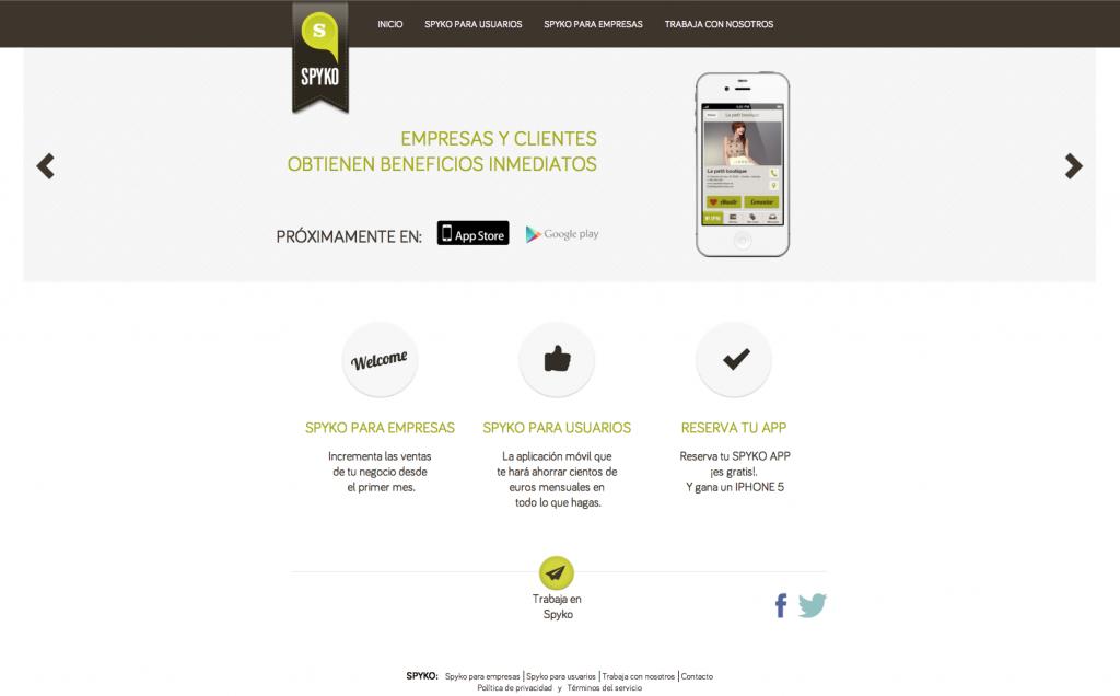 Diseño Web Spyko