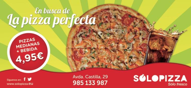 """Campaña Solopizza """"La pizza perfecta"""""""