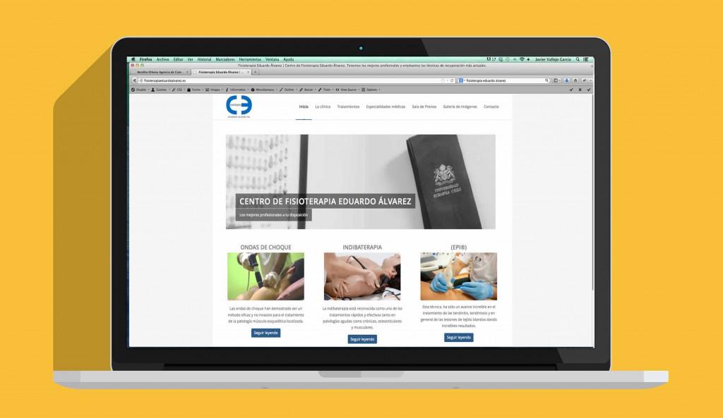 Web Fisioterapia Eduardo Álvarez